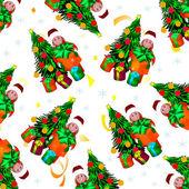 Jul. barn. — Stockfoto