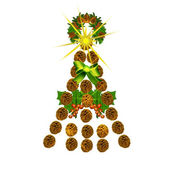 Christmas. Tree. — Stock Photo