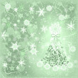 Christmas tree. Background. — Stock Photo