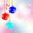 Christmas. Christmas ornaments. Balls. — Stock Photo
