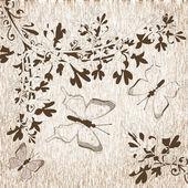 Ilustração. borboleta. — Fotografia Stock