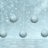Abstract background. Christmas. — Stock Photo