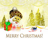 Santa Claus. Holiday. — Stok fotoğraf