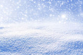 Background of snow. Winter landscape. — Stock Photo