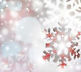 Background of snowflakes. — Stock Photo