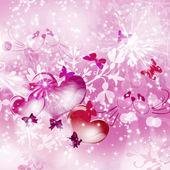 Balões. corações. — Fotografia Stock
