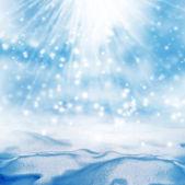 Zimą. śnieg. — Zdjęcie stockowe