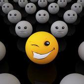Smiley Ball — Stock Photo