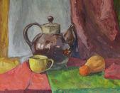 Still life with Teapot — Stock Photo