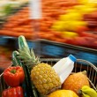 Grocery Shopping cart — Stock Photo
