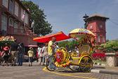 Trishaw in Melaka, Malaysia — Stock Photo