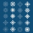 Set of snowflakes — Stock Vector #17345589