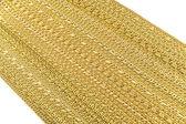Golden bracelets, necklaces — Stock Photo