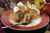 Apple muffins — Stock Photo