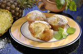 Pineapple muffins — Stock Photo