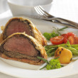 Wellington steak — Stock Photo