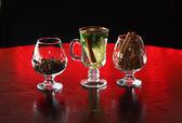 Herbata i jego składniki — Zdjęcie stockowe