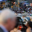 Crowd, New York City — Stock Video #13601831