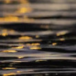 Stock Video: Water surface, reflections