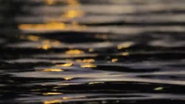 Water surface, reflections — Stock Video