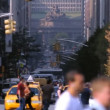 Street Traffic, NYC - Stock Photo