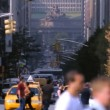 Street Traffic, NYC — Stock Video