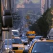 Stock Video: Park Avenue, New York City