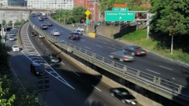 Brooklyn Queens Expressway — Stock Video