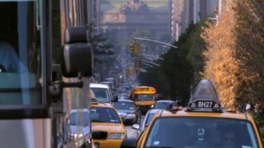 Park Avenue, New York City — Stock Video