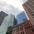 Stock Video: Time lapse, Financial District