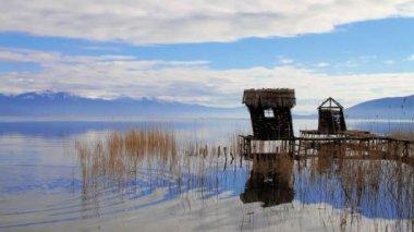 Casa de pescador vintage — Vídeo de Stock