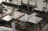 A construção do edifício. — Foto Stock