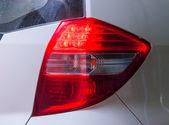 Brake lights car — Stock Photo