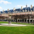 Stock Photo: Place des vosges paris