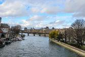 Seine River in paris — Stock Photo