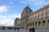 Louvre museum in paris — Stockfoto