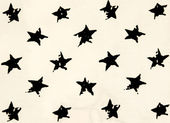 Stars cotton chintz — Stockfoto