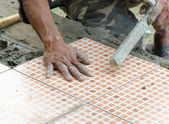 Mechanic Floor tiles — Stockfoto
