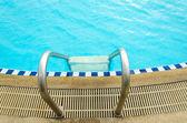 Swimming pool water — Stock Photo