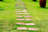 ścieżki ogrodowe — Zdjęcie stockowe