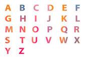 Alfabeto un a z. — Foto Stock