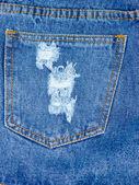 牛仔裤口袋 — 图库照片
