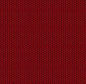 Red honeycomb — Stock Vector