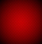 Red hexagons — Stock Vector