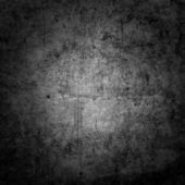 Old scratched metal square — Stock Photo
