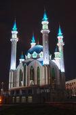 Qolsharif mosque at night — Stock Photo