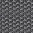 Gray honeycomb texture — Stock Photo