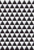 Rapport of black and white triangles — Stock Photo