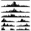 Stock Vector: City silhouette