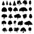 Set tree - Stock Vector